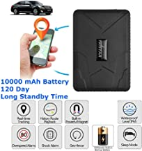 TKSTAR GPS Tracker, GPS Tracker for Vehicles Car Motorcycle Real Time GPS Tracking Device 120 Days Long Standby Anti Theft... photo