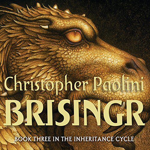 Brisingr: The Inheritance Cycle, Book 3 audiobook cover art