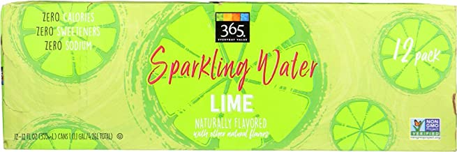 365 Everyday Value, Sparkling Water Lime, 12 pack