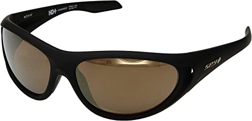 25th Anniv Matte Black Gold/HD Plus Bronze/Gold Spectra Mirror