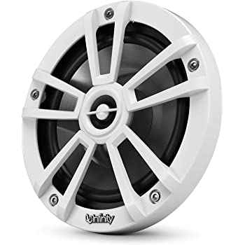 "Infinity 622MW 450W 6.5"" 2-Way Water Resistant Coaxial Marine Boat Car Audio Stereo Speakers"