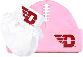 Future Tailgater Dayton Flyers Football Cap and Socks with Lace Set