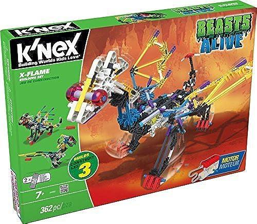 K'NEX Beasts Alive X-Flame Building Set by K'NEX