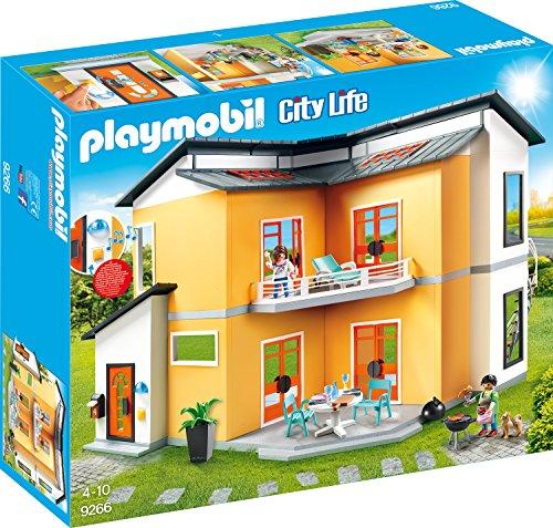 Playmobil City Life 9266 Modernes Wohnhaus, Mit Licht- und Soundeffekten, Ab 4 Jahren