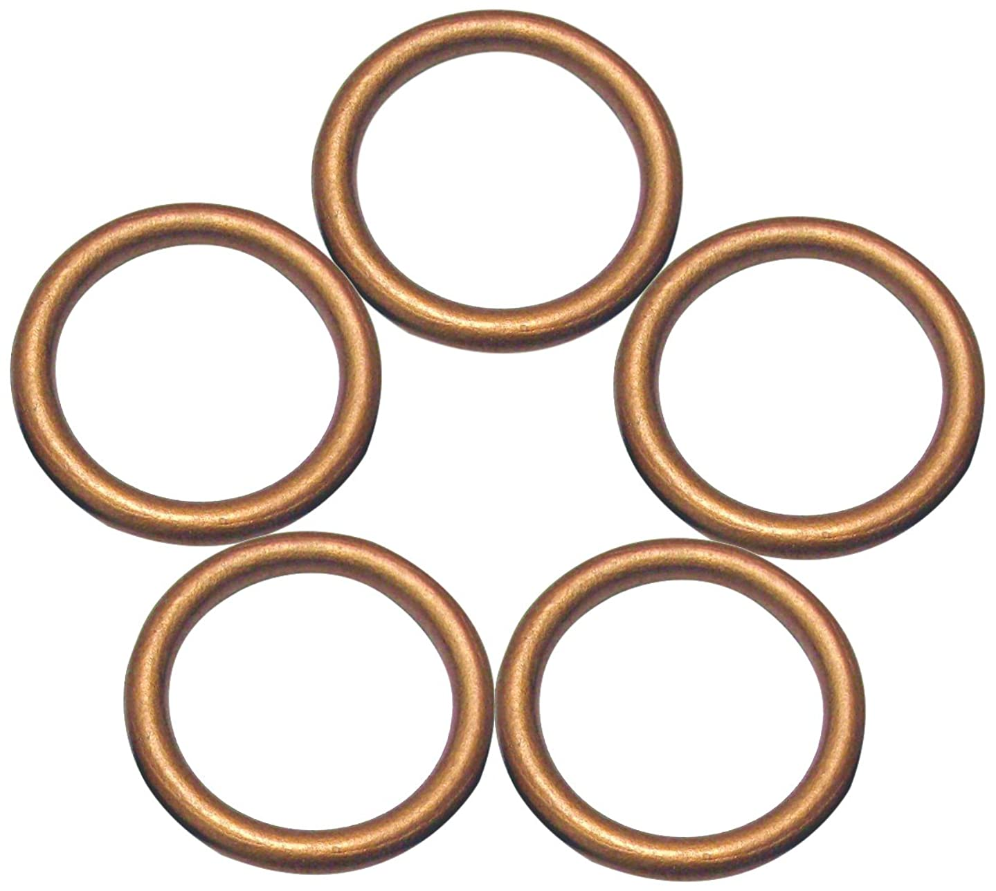 Linpeng Wood Loops/Wooden Rings for Craft Work/DIY Jewelry/Ring Pendant/Jewelry Making Connectors/Ring Size 68mm, Thickness 8mm/ Copper Brown Color / 5PCS