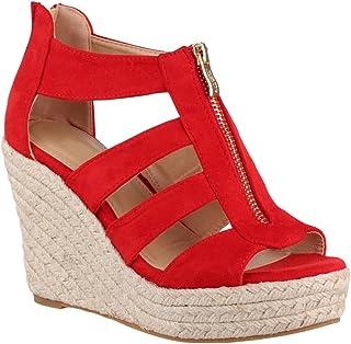33caa318650932 Amazon.fr : chaussures à talons rouge femme sexy : Chaussures et Sacs