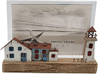 LXHDKDT Cadre Photo, Cadres Photo, Photo Frames, Picture Frames, Cadre Photo De Style Océan 10X8 Pouces / 8X6 Pouces Cadre...