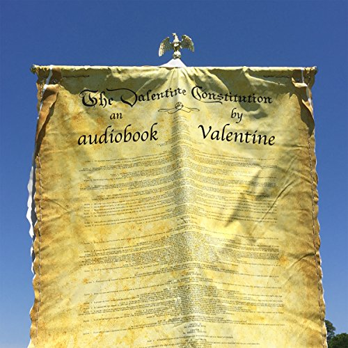 The Valentine Constitution Audiobook By James Valentine cover art