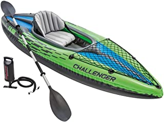 Intex Challenger Kayak Inflatable Set with Aluminum Oars
