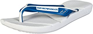 Sandalias De Diseñador De Emporio Armani Hombres 2116625 480 P UK12/eu47 Blanco