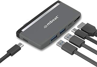 mbeat USB Type C Hub 5-in-1 Essential Multiple Port Universal Adapter USB-C to HDMI USB-C USB 3.0