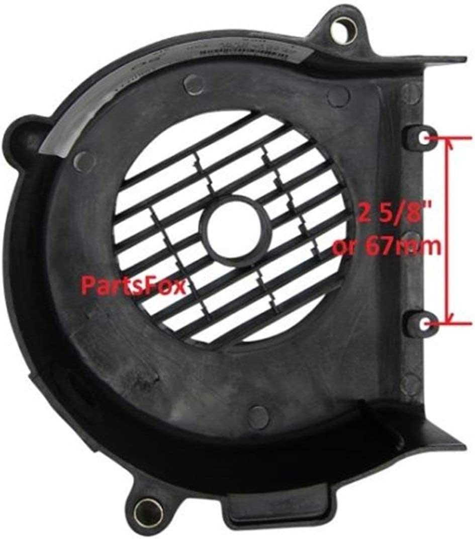 Scooter Plastic Cooling Fan Cover 150cc Right Side GY6-125cc 157 Ranking Max 85% OFF TOP15
