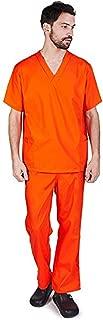 Men's Scrub Set Medical Scrub Top and Pants