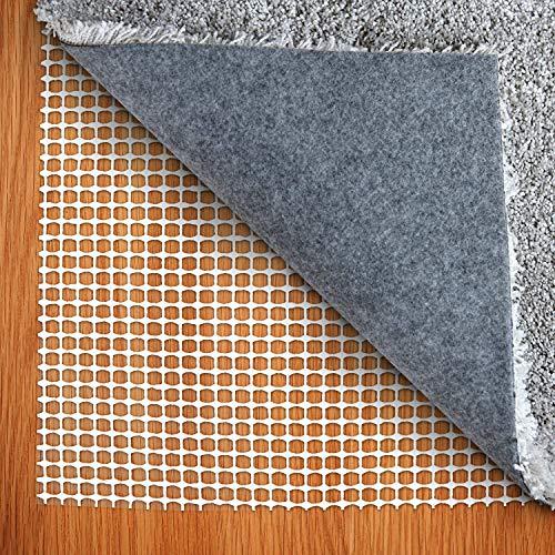 Teppich rutschfeste Matte 80 x150 cm Teppichmatte PVC-Material rutschfeste Matte Rutschfester Schutz leicht zu schneiden kann geschnitten Werden, geeignet für Verschiedene Böden