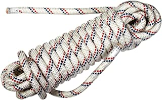 GLJJQMY Climbing Rope, Static Rope, Life-Saving Escape Rope, Aerial Work Rope, Rappelling Rope Ropes (Color : B, Size : 30m)