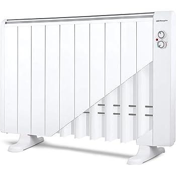 Orbegozo RRM 1810 – Emisor térmico sin aceite, 10 elementos, 1800 W, 2 niveles de potencia, color blanco