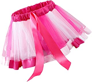 D DOLITY キッズ チュールスカート ダンス バレエ 衣装 ドレスアップ パーティー 全2色