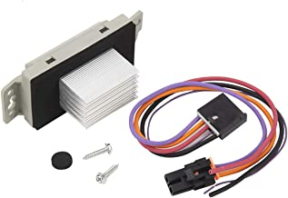 Blower Motor Resistor Complete Kit With Harness - Replaces# 15 81773, 89018778, 89019351, 1581773, 15-81773 - Fits Chevy Silverado, Tahoe, Suburban, GMC Sierra Yukon Buick Cadillac Escalade & more