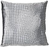 Zebra Textil 36548 Funda de Almohada de 45 x 45 cm 1004 Zenith, Plata
