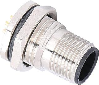 Conector à prova d'água de 8 pinos, design de amortecimento AC/DC 250V AWG22 0,34 mm² Boa condutividade soquete de montage...
