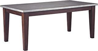 Signature Design by Ashley Larchmont Dining Room Table, Burnished Dark Brown