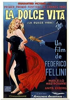 GREATBIGCANVAS Poster Print Entitled La Dolce Vita, Argentinian Poster Art, 1960 by 24