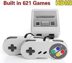 Family Mini Classic Consola - con 621 Juegos clásicos Salida HDMI