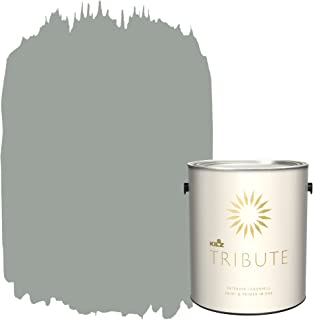 KILZ TRIBUTE Interior Eggshell Paint and Primer in One, 1 Gallon, Stone Cold (TB-66)