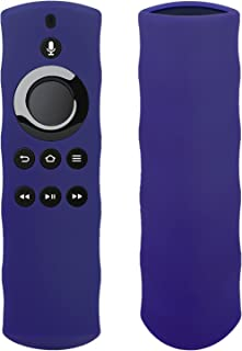 Silicon Case For Alexa Voice Remote for Fire TV and Fire TV Stick By 1XD GEAR (Violet)