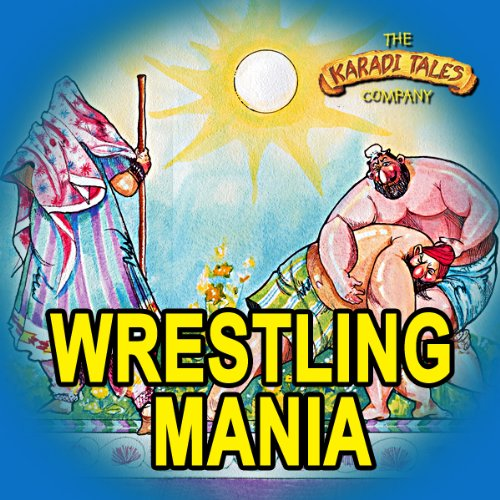 Wrestling Mania audiobook cover art