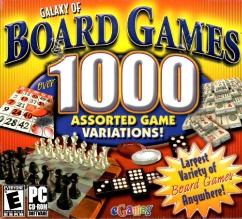 Galaxy of Board Games 1000 [video game]