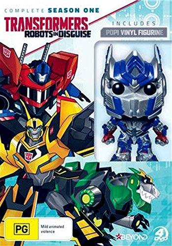 Transformers: Getarnte Roboter / Transformers: Robots in Disguise Season 1 plus Optimus Prime Figurine 4-DVD Box Set ( ) [ Australische Import ]
