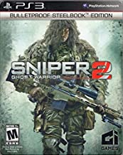 Sniper 2 Ghost Warrior Bulletproof Steelbook Edition PS3