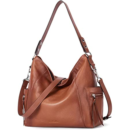 BOSTANTEN Damen Leder Schultertasche Frauen Handtaschen Umhängetasche Henkeltaschen Designer Tote Bag