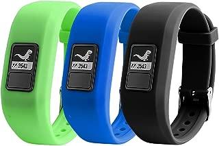 TMCCE for Garmin Vivofit JR Bands Replacement Silicone Bands for Garmin Vivofit JR with Secure Watch Clasp