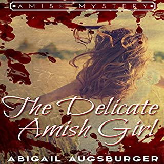 The Delicate Amish Girl audiobook cover art