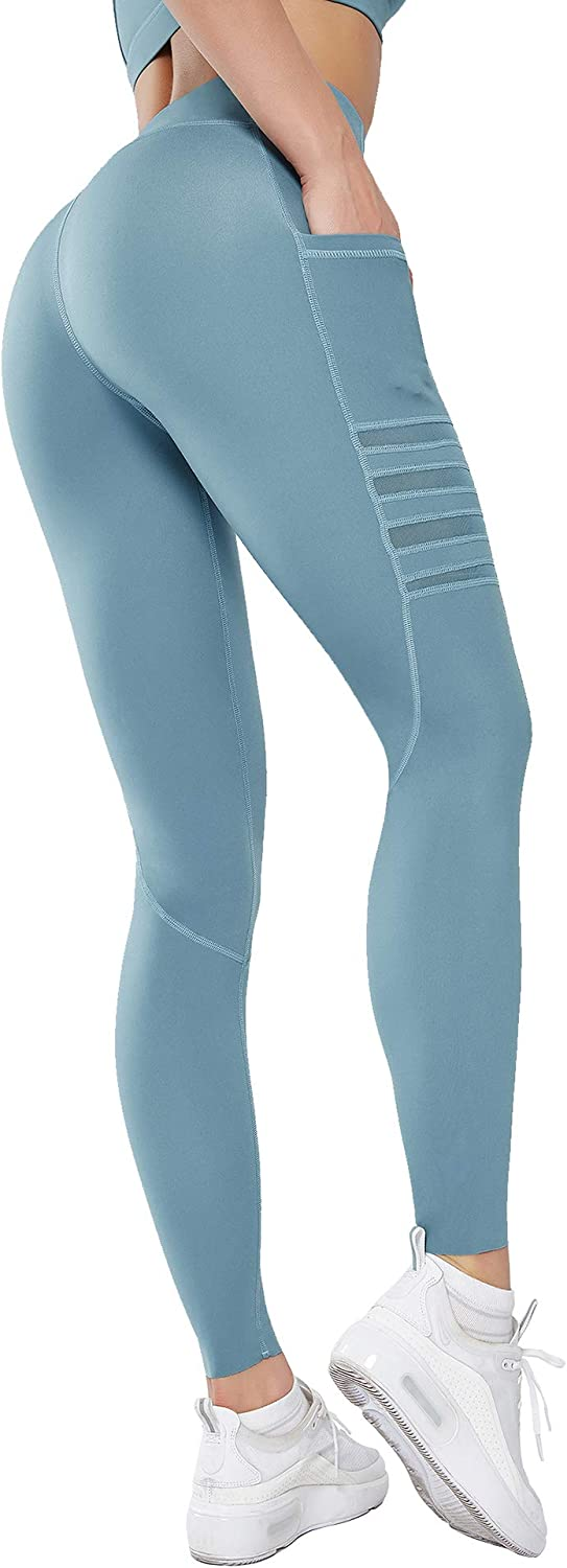 Details about  /Women/'s Yoga Pants Sports Running Sportswear Stretchy Compression Tight Pant New