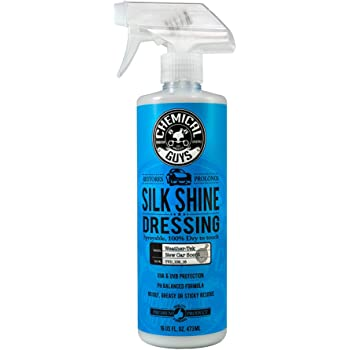 Chemical Guys TVD_109_16 - Silk Shine Spray-able Dry-To-The-Touch Dressing For Tires, Trim, Vinyl, Plastic and More (16 Ounce)