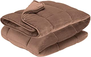 Pikolin Home - Edredón nórdico de fibra reversible bicolor marrón y marrón claro de 300 gr con terciopelo para invierno y habitaciones con temperaturas frías, cama de 180/200-240 x 270 cm
