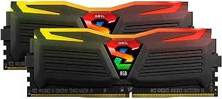 GeIL 16GB (2 x 8GB) Super LUCE RGB SYNC AMD Edition DDR4 PC4-24000 3000MHz Desktop Memory Model GALS416GB3000C16ADC