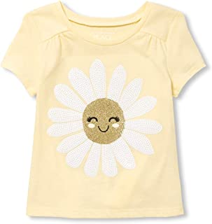 The Children's Place Baby Girls Short Sleeve Graphic Knits