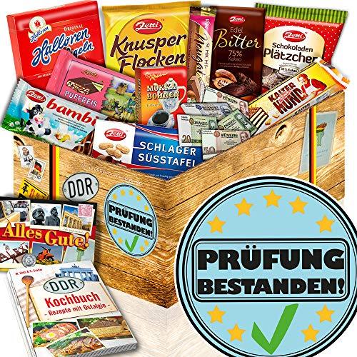 Prüfung bestanden + DDR Schokolade + Geschenk Freundin Prüfung