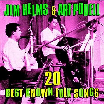 20 Best Known Folk Songs