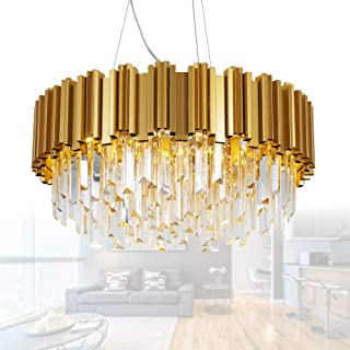 Best gold chandelier light Reviews