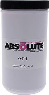 OPI Absolute Translucent - Pink Powder for Women 32 oz Nail Powder, 907 g