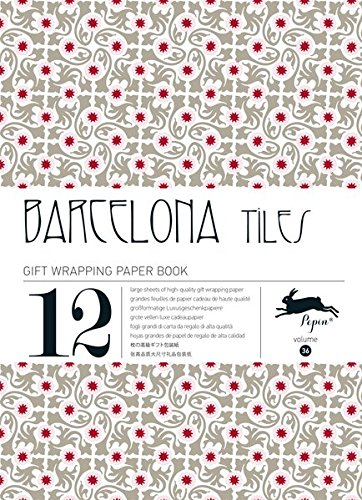 Barcelona Tiles: Gift & Creative Paper Book Vol. 36 (Gift Wrapping Paper Book, Band 36)
