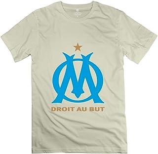 Leberts Olympique De Marseille Short-Sleeve T-Shirts for Men