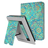 Fintie Stand Case for Kindle Paperwhite (Fits All-New 10th Generation 2018 / All Paperwhite Generations) - Premium PU Leather Protective Sleeve Cover with Card Slot and Hand Strap, Shades of Blue case for kindle paperwhites May, 2021