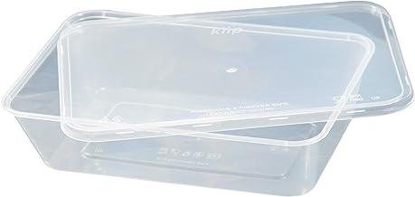 Kiip SLappeR 650ml×250個(本体・kiip共通フタセット・10パックセット)【冷凍保存・電子レンジ・食洗機対応タッパー=おまとめ買い・食品保存・テイクアウト・業務用】
