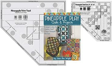 Creative Grids Bundle - Pineapple Trim Tool (CGRJAW3), Pineapple Trim Tool Mini (CGRJAW3MINI) with 64 Page Book